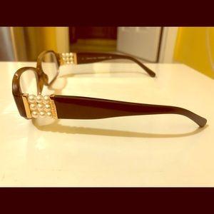 CHANEL Perle Tortoise 3166-H c. 1101 Eyeglasses